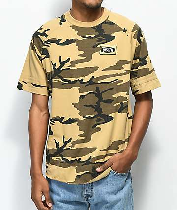 Brixton Rockford Camo T-Shirt
