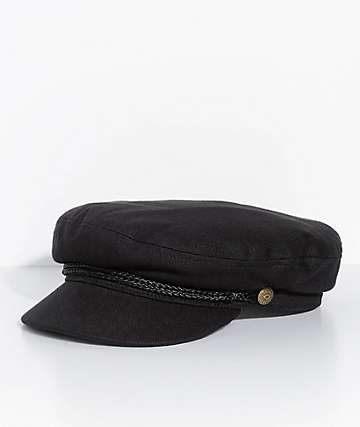 Brixton Small Fidler Black Hat
