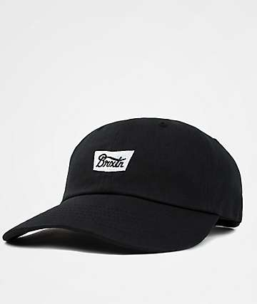 Brixton Stith Black & White Baseball Hat