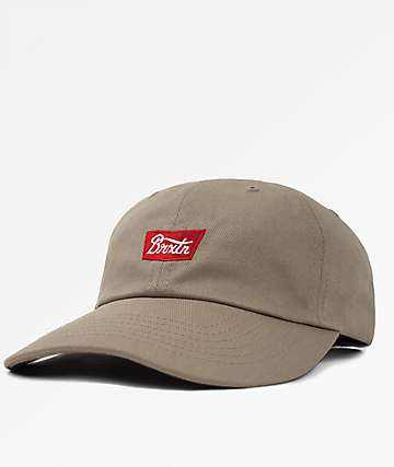 Brixton Stith Khaki Baseball Hat