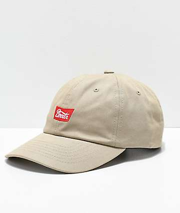 Brixton Stith Khaki Strapback Hat