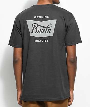 Brixton Stith camiseta negra
