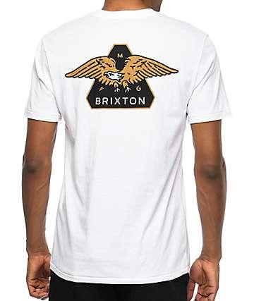 Brixton Turret White Pocket T-Shirt
