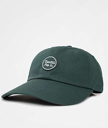 Brixton Wheeler Chive Dad Hat