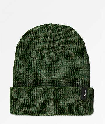 Brixton gorro verde oscuro