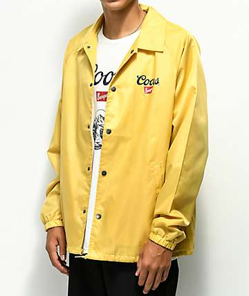 Brixton x Coors Banquet Buff Coaches Jacket