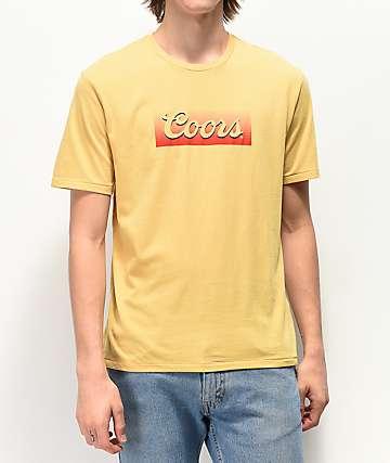 Brixton x Coors Banquet Hazer Cream T-Shirt