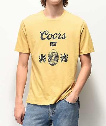 Brixton x Coors Banquet Hops Cream T-Shirt
