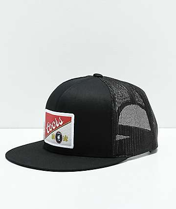 Brixton x Coors Heritage Coors Black Mesh Snapback Hat