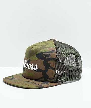 Brixton x Coors Signature Camo Trucker Hat