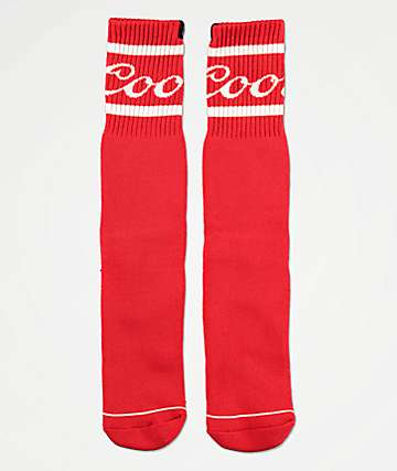 Brixton x Coors Signature Red Crew Socks