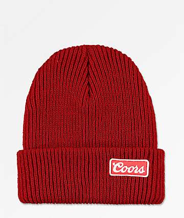 Brixton x Coors gorro rojo