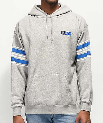 Brixton x Independent Friendly Union Grey Hoodie