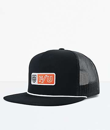 Brixton x Independent Turnpike Black Snapback Hat