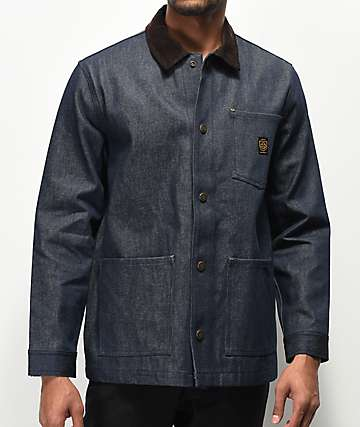 Brixton x Independent Yard Dark Blue Denim Jacket