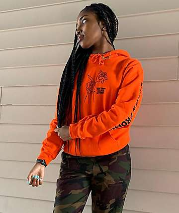 Broken Promises Could Be Different sudadera naranja