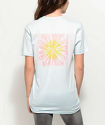 Broken Promises Dandelion Light Blue T-Shirt