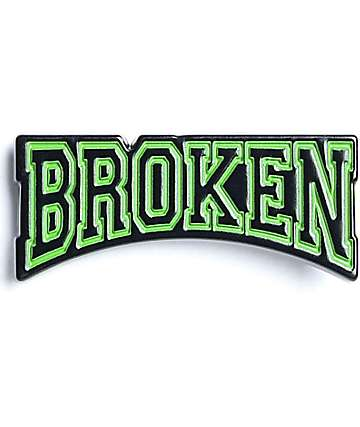 Broken Promises Drop Out Pin