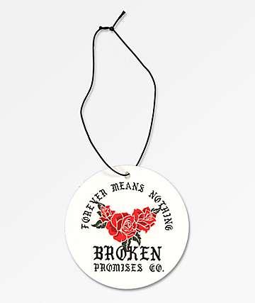 Broken Promises Forever Round Air Freshener