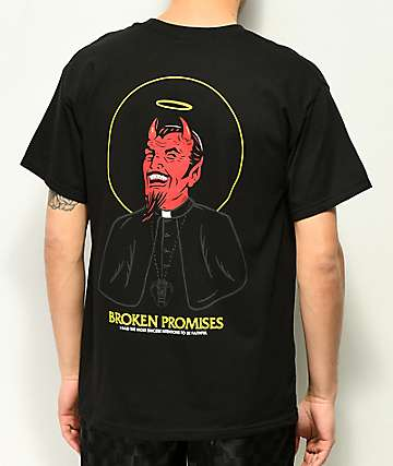 Broken Promises Good Faith Black T-Shirt