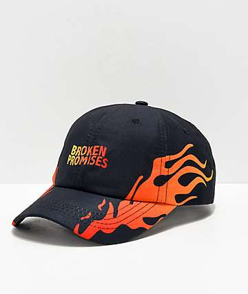 Broken Promises Hellraiser Black & Red Strapback Hat