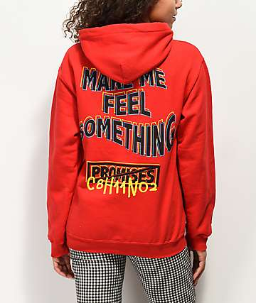 Broken Promises Make Me Feel Red Hoodie