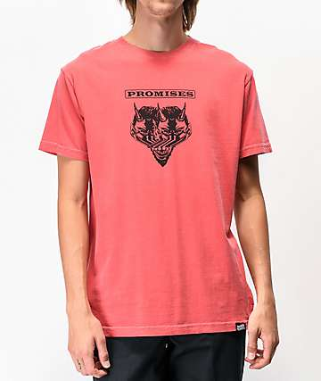 Broken Promises Purgatory Washed Red T-Shirt