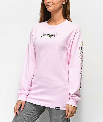 Broken Promises Sacrifice Pink Long Sleeve T-Shirt