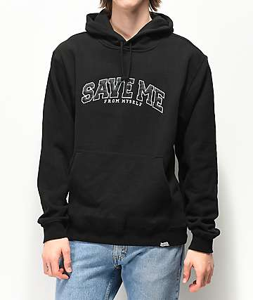Broken Promises Save Me Black Hoodie