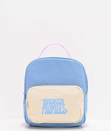 Broken Promises Sorcerer Blue & Pink Mini Backpack