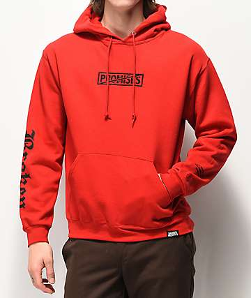 Broken Promises Statement Red Hoodie