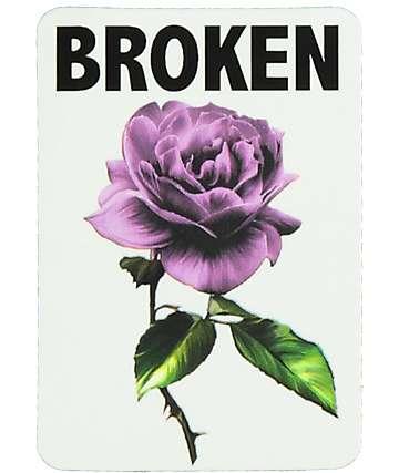 Broken Promises Thornless Sticker