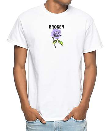 Broken Promises Thornless camiseta blanca