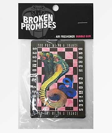 Broken Promises Trance Air Freshener