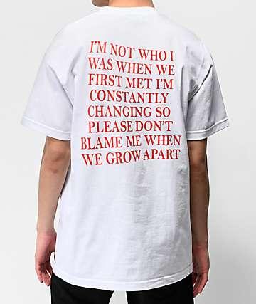 d880f12339bc9 Broken Promises Transformation White T-Shirt