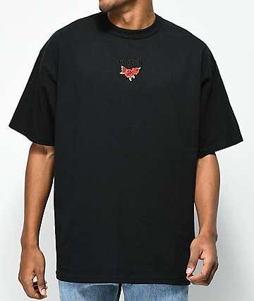 Broken Promises Trio camiseta negra con bordado