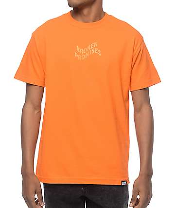 Broken Promises Vortex Orange T-Shirt