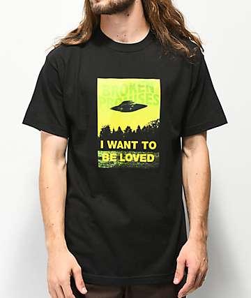 Broken Promises x Ex-Files Black T-Shirt