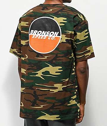 Bronson Logo camiseta de camuflaje