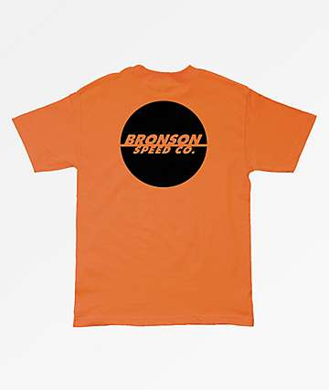 Bronson One Color Spot Pocket Orange T-Shirt