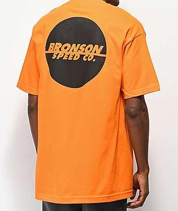 Bronson One Color Spot camiseta naranja