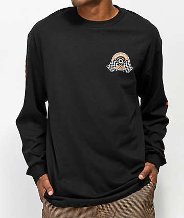 Bronson Winner's Circle Black Long Sleeve T-Shirt