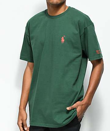 Brooklyn Projects Reaper OG camiseta en verde oscuro