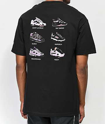 Brooklyn Projects Sneakers Black T-Shirt