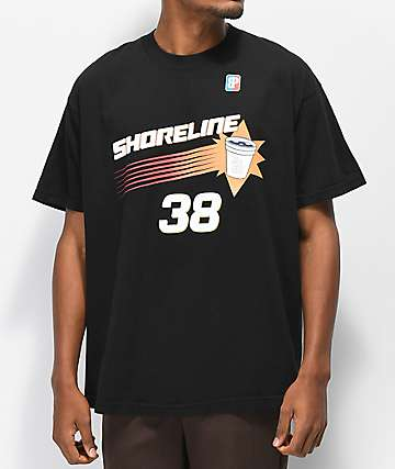 Brooklyn Projects x Shoreline Mafia Baller camiseta negra