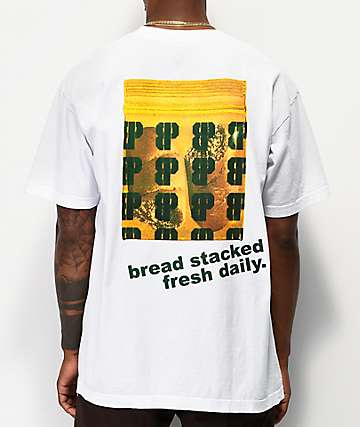 Brooklyn Projects x Shoreline Mafia Bread White T-Shirt