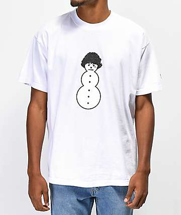 Brooklyn Projects x Shoreline Mafia Ghee Man camiseta blanca