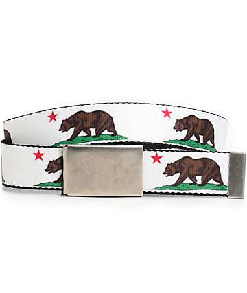 Buckle Down Cali Bear Web Belt