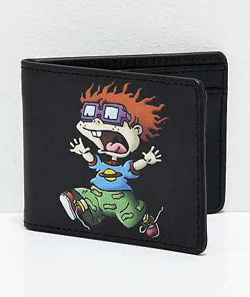 Buckle-Down Planet Chuckie Black Bi-Fold Wallet