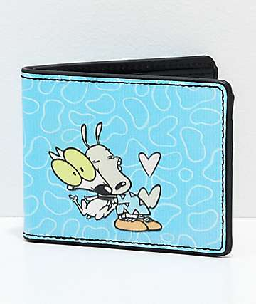 Buckle-Down Rocko' cartera plegable en azul